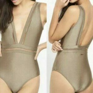 Ted Baker Pointelle One Piece Swimsuit